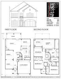 Attached 2 Car Garage Plans Best 25 Two Storey House Plans Ideas On Pinterest 2 Fine Simple