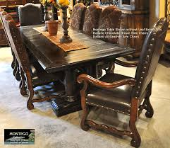 dining room table sets leather chairs dining room table sets