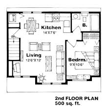 one story garage apartment floor plans second floor plan of garage plan 94340 26 x 24 garage apartment