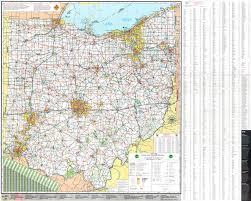 Detailed Map Of The United States Large Detailed Official Ohio State Transportation Map Ohio State