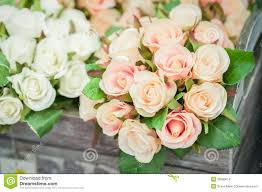 artificial roses silk roses stock images image 33550614