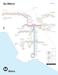 Map De Los Angeles by Los Angeles Metro Map Map Travel Holiday Vacations
