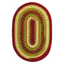 Red Oval Rug Flooring Appealing Oval Stroud Braided Rugs For Inspiring Living