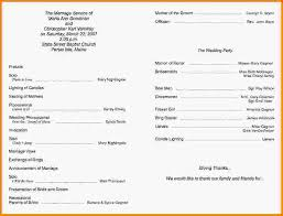 Wedding Programs Sample 8 Church Program Templates Letterhead Template Sample
