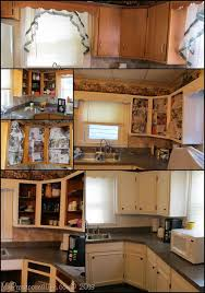 Updating Existing Kitchen Cabinets Kitchen Cabinets Updated With Paint U0026 Trim My Repurposed Life