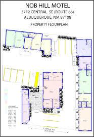 motel floor plans nhdc nob hill motel floorplan