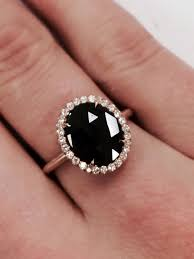 untraditional engagement rings best 25 onyx engagement ring ideas on black