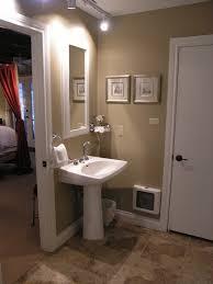 Bathroom Colors Ideas Bathroom Charming Round Mirror On Minimalist Modern Bathroom