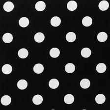 outdoor 2 piece wicker chair cushion set black white polka dot