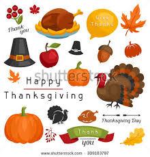 happy thanksgiving day card design vectores en stock