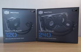 Cooler Master Test Bench Cooler Master Masterliquid 120 And 240 Aio Cooler Review Play3r