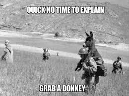 Funny Donkey Memes - funny memes no time to explain dumpaday 2 dump a day