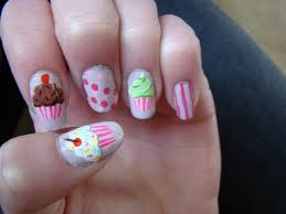 35 cute cupcake nail art design ideas for trendy girls pinterest