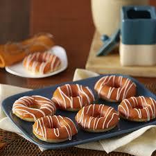 pumpkin spiced baked donuts recipe wilton