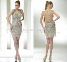 spaghetti strap sequins beading formal italian see through