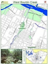 Austin Flood Map by Bouldin Creek Neighborhood In South Central Austin Brief History