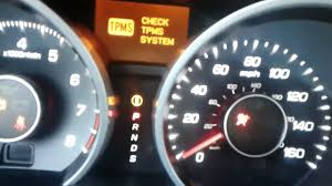 acura mdx tpms light acura tl 2012 tsx tlx tpms sensor error what to do youtube