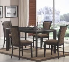 Black Wood Dining Room Table by Santa Clara Furniture Store San Jose Furniture Store Sunnyvale