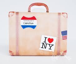 favor bag vintage suitcase favor bag gift bag party favor suitcase