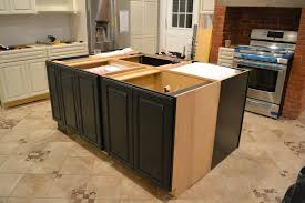how to install a kitchen island how to install island cabinets memsaheb