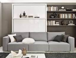 wall bed with sofa transformable murphy bed over sofa systems that save up on ample space
