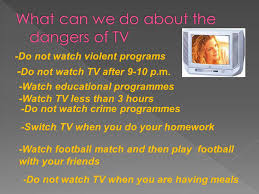 cuisine tv programmes the effects of tv negative effects of tv my favourite tv programme