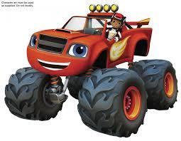 monster trucks for kids blaze let u0027s blaze uk license partners announced for hit nick jr