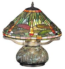 Dragonfly Light Fixture 26681 Dragonfly W Mosaic Base Table L