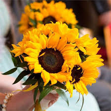 sunflower bouquets sunflower bouquets everything you need to hitched co uk