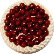 cake top cherry top vanilla cake 9 inch decorcentral dba flora cal