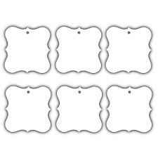 wedding wish tags 100 x white designer plate tags wish tree wedding birthday tags