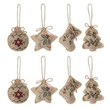 tree ornaments decorations 8pcs