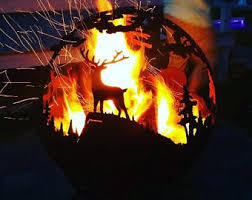 Fire Pit Globe by Fire Pit With Removable Grill Pick Up Only