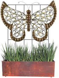 Vertical Garden Trellis - big green leaf vertical garden trellis singles buy more pay