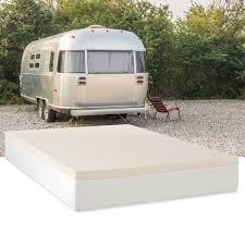 select luxury rv 2 inch memory foam mattress topper free