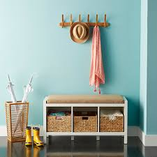 Container Store Shelves by Water Hyacinth Storage Bins With Handles The Container Store