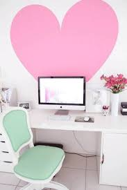 home office wall decor with big heart wall decals home office