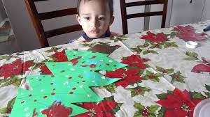christmas tree finger painting toddlers arts and crafts youtube