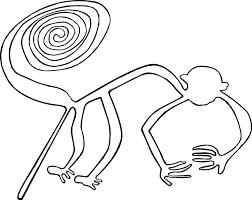 art lesson nazca plateau contour line drawing