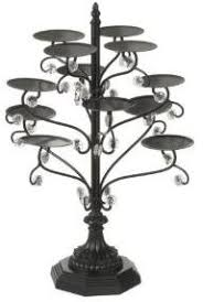 chandelier cupcake stand black cake stands