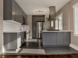 Kitchen Grey Cabinets 29 Charming Compact Kitchen Designs Designing Idea