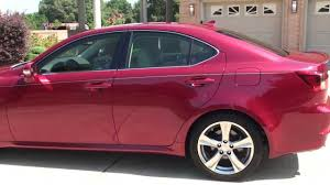 lexus is van hd video 2012 lexus is 250 matador red for sale see www