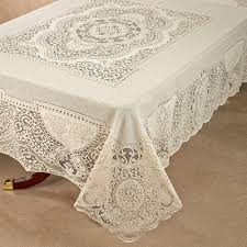 table cloth canterbury classic lace oblong tablecloth
