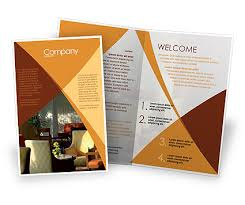 brochure templates adobe illustrator hotel restaurant sale poster template in microsoft word publisher
