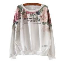 discount ladies floral print sweaters 2017 ladies floral print