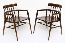 pair of paul mccobb captain u0027s chairs at 1stdibs
