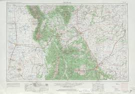 Colorado Elevation Map by Free U S 250k 1 250000 Topo Maps Beginning With