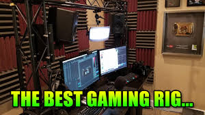 Best Pc Gaming Setup by The Best Pc Gaming Setup Ever Literally Truss System Youtube