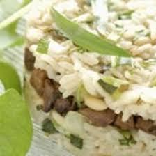 cuisiner foie de volaille recette timbale de riz au foie de volaille