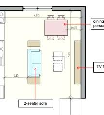 kitchen floorplan small open floor plan kitchen living room inte 47967